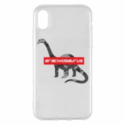 Чохол для iPhone X/Xs Brachiosaurus