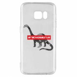 Чехол для Samsung S7 Brachiosaurus