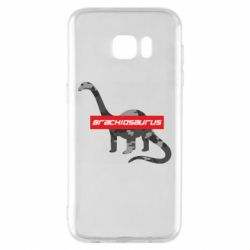 Чехол для Samsung S7 EDGE Brachiosaurus