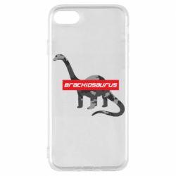 Чехол для iPhone 8 Brachiosaurus