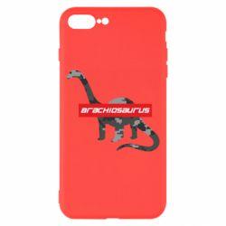 Чехол для iPhone 8 Plus Brachiosaurus