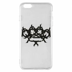 Чехол для iPhone 6 Plus/6S Plus Brass knuckles tattoo