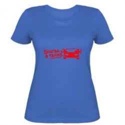 Женская футболка Братва в тачке