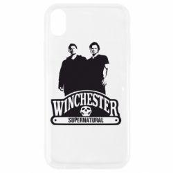 Чохол для iPhone XR Брати Вінчестери серіал