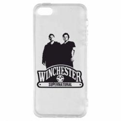Чохол для iphone 5/5S/SE Брати Вінчестери серіал