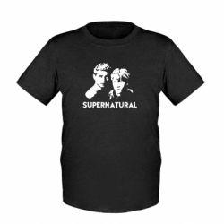 Детская футболка Братья Винчестеры Сверхъестественное - FatLine