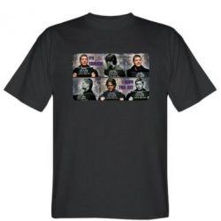 Мужская футболка Братья Винчестеры в полиции - FatLine