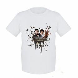 Детская футболка Братья - FatLine
