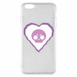 Чехол для iPhone 6 Plus/6S Plus Brawl heart