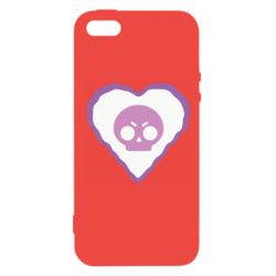 Чехол для iPhone5/5S/SE Brawl heart