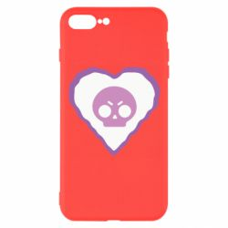 Чехол для iPhone 8 Plus Brawl heart
