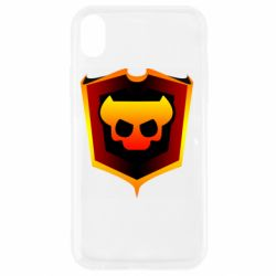 Чехол для iPhone XR Brawl Horns