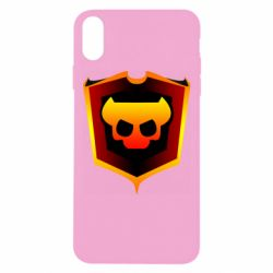 Чехол для iPhone Xs Max Brawl Horns