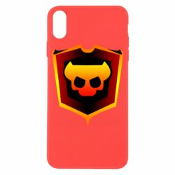 Чехол для iPhone X/Xs Brawl Horns