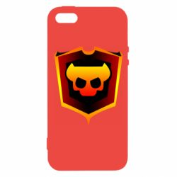 Чехол для iPhone5/5S/SE Brawl Horns