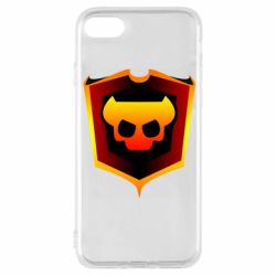 Чехол для iPhone 8 Brawl Horns