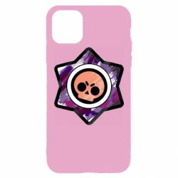 Чехол для iPhone 11 Pro Max Brawl logo purple