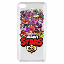Чехол для Xiaomi Mi 5s Brawl Stars all characters art