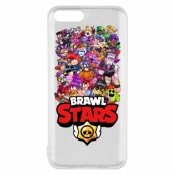 Чехол для Xiaomi Mi6 Brawl Stars all characters art