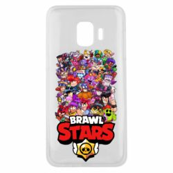 Чехол для Samsung J2 Core Brawl Stars all characters art