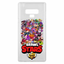 Чехол для Samsung Note 9 Brawl Stars all characters art