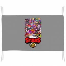 Флаг Brawl Stars all characters art