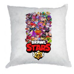 Подушка Brawl Stars all characters art