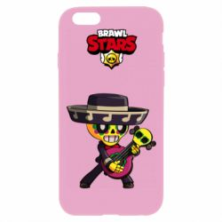 Чехол для iPhone 6 Plus/6S Plus Brawl stars art Poco