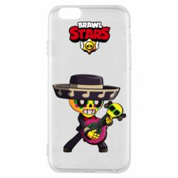 Чехол для iPhone 6/6S Brawl stars art Poco