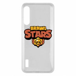 Чохол для Xiaomi Mi A3 Brawl Stars logo orang and yellow