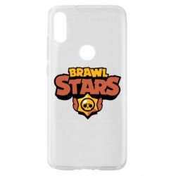 Чехол для Xiaomi Mi Play Brawl Stars logo orang and yellow