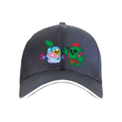 Кепка Brawl stars Spike and sprout