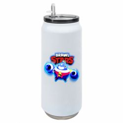 Термобанка 500ml Brawl stars Tick ​​with glow