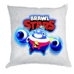 Подушка Brawl stars Tick ​​with glow