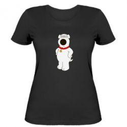 Женская футболка Брайан Гриффин - FatLine
