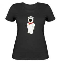Женская футболка Брайан Гриффин