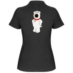 Женская футболка поло Брайан Гриффин - FatLine