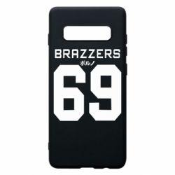 Чехол для Samsung S10+ Brazzers 69