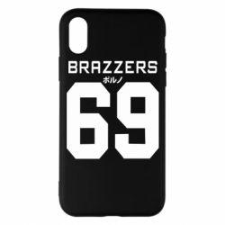 Чехол для iPhone X/Xs Brazzers 69