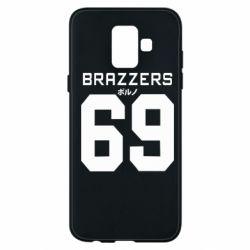 Чехол для Samsung A6 2018 Brazzers 69
