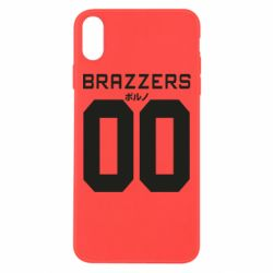 Чехол для iPhone Xs Max Brazzers and number