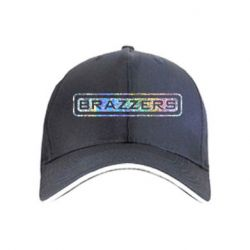 Кепка Brazzers logo Голограмма