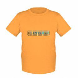Детская футболка Brazzers logo Голограмма