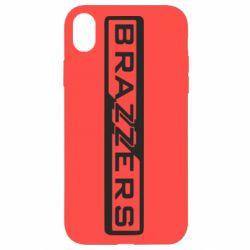 Чехол для iPhone XR Brazzers Logo