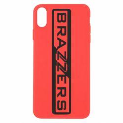 Чехол для iPhone X/Xs Brazzers Logo