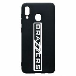 Чехол для Samsung A20 Brazzers Logo