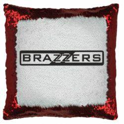 Подушка-хамелеон Brazzers Logo