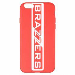 Чехол для iPhone 6 Plus/6S Plus Brazzers Logo