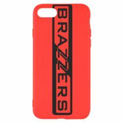 Чехол для iPhone 7 Brazzers Logo