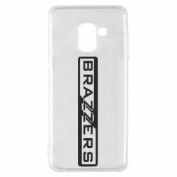 Чехол для Samsung A8 2018 Brazzers Logo